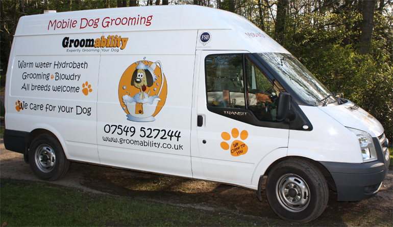 Mobile Dog Grooming Covering North Wiltshire Bath And East SomersetGroomability